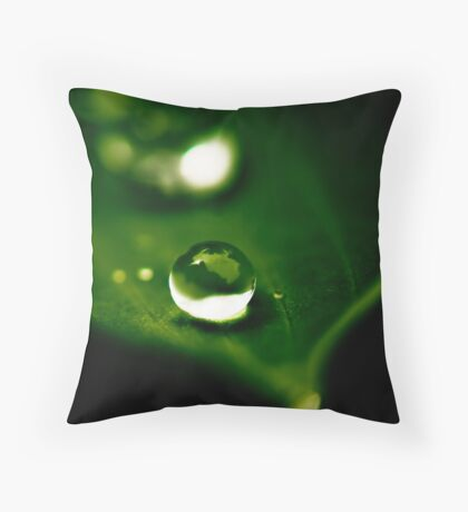 For One So Small, You Seem So Strong Throw Pillow