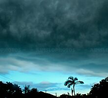 Cyan StratoCumulus by -aimslo-