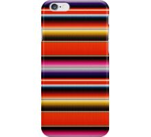 Mexico zarape iPhone Case/Skin