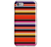 Mexico zarape iPhone Case/Skin