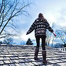 Sweater, Uggs and Shingles by MWags