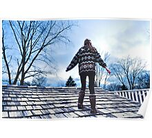 Sweater, Uggs and Shingles Poster