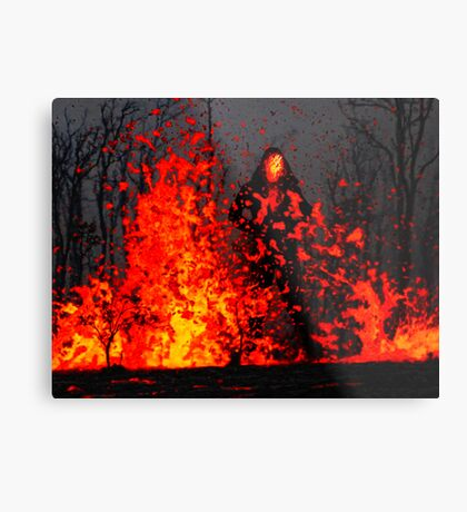 The Mofo Metal Print
