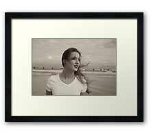 Zoe in ..November Framed Print