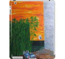 Life searches and the anonymity after departures iPad Case/Skin
