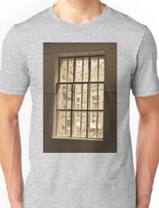 0969 Through the barred window Unisex T-Shirt