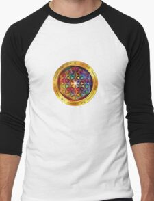 The Flower of Life Men's Baseball ¾ T-Shirt