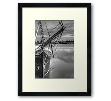 Safe Waters Framed Print