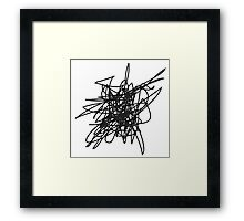 The Irrational Anthem Podcast Official Scribble © Framed Print