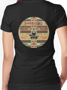 Seamless Totem Women's Fitted V-Neck T-Shirt