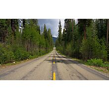 Lost in the Sierra Nevada Mountains Photographic Print
