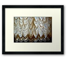 hermitage curtains Framed Print