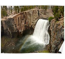 Rainbow Falls, Devils Postpile National Monument Poster