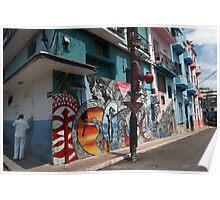 cuban street art Poster