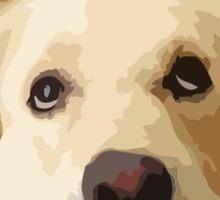 Chillin Pup  Sticker