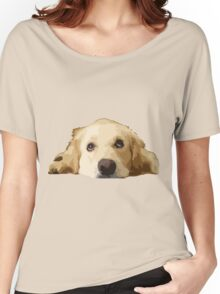 Chillin Pup  Women's Relaxed Fit T-Shirt