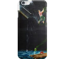 Jump into the river iPhone Case/Skin