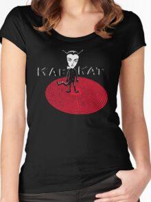 Kafka Cat Metamorphosis Women's Fitted Scoop T-Shirt