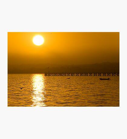 Golden Sunrise Photographic Print