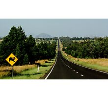 Drive with care....Koala Sign Photographic Print