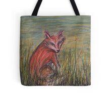 Fox at Dusk Tote Bag