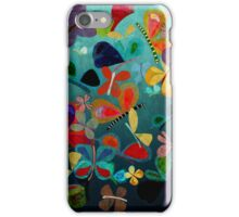 Sky Landscape Colorful insects iPhone Case/Skin