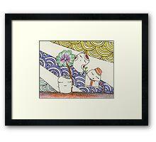 hamster series - growing up Framed Print