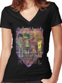 Ru'mel bootleg shirt Women's Fitted V-Neck T-Shirt