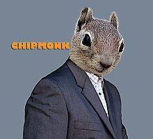 Chipmonk by mokacat