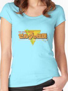 Original Legend - Japanese (Orange) Women's Fitted Scoop T-Shirt