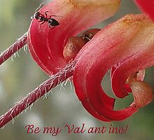 Be my Val ant ine!  by George Petrovsky