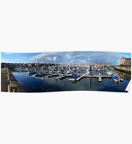 Bangor Marina No.1 Poster