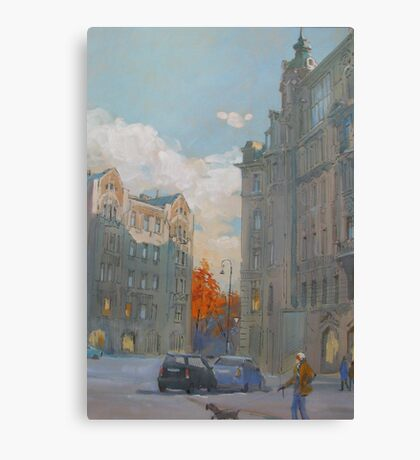 St. Petersburg, Russia, Austria Square  Canvas Print