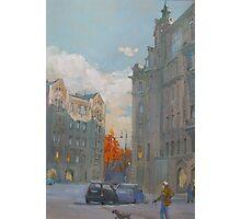 St. Petersburg, Russia, Austria Square  Photographic Print