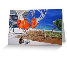 State of Emotion-the pulse-, let it work... Greeting Card