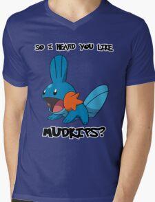 So I heard you like Mudkips? Mens V-Neck T-Shirt