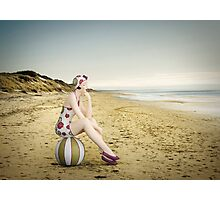 Live in the Sunshine, Swim in the Sea, Drink the Wild Air... Photographic Print