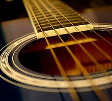 Blue Guitar by Cassandra Jones