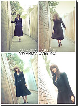 """Alley Cat"" [Amanda Tapping - Actors Studio Very Limited Edition Series Print] by Filmart"