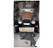 Vintage Car - Essex Super Six Poster