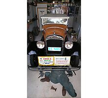 Vintage Car - Essex Super Six Photographic Print