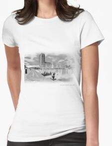 There and Here Womens T-Shirt