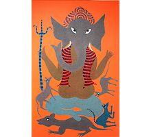 Shree Ganesh Photographic Print