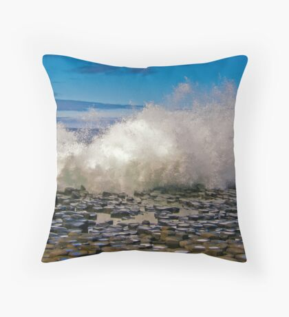 Giants Causeway Throw Pillow