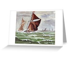 Maybe we could sail away... Greeting Card
