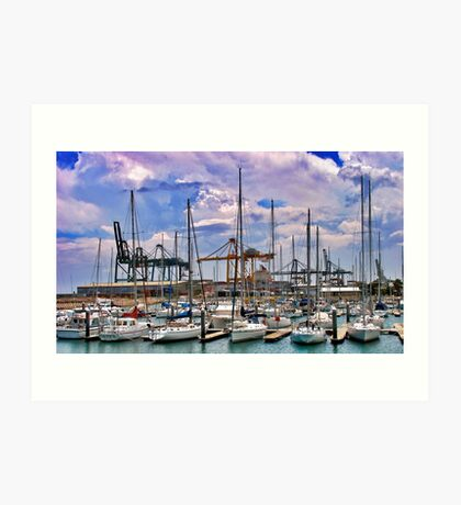 Outer Harbour Art Print