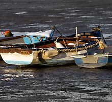 High And Dry On The Stour Estuary by Darren Burroughs