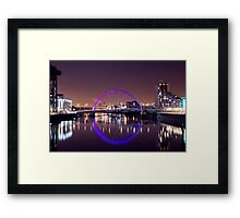 The Millenium Bridge Framed Print