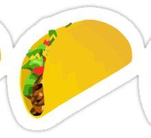 Taco Emoji  Sticker