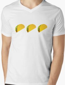 Taco Emoji  Mens V-Neck T-Shirt